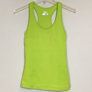 Fila Racerback Athletic Tank with Built in Bra